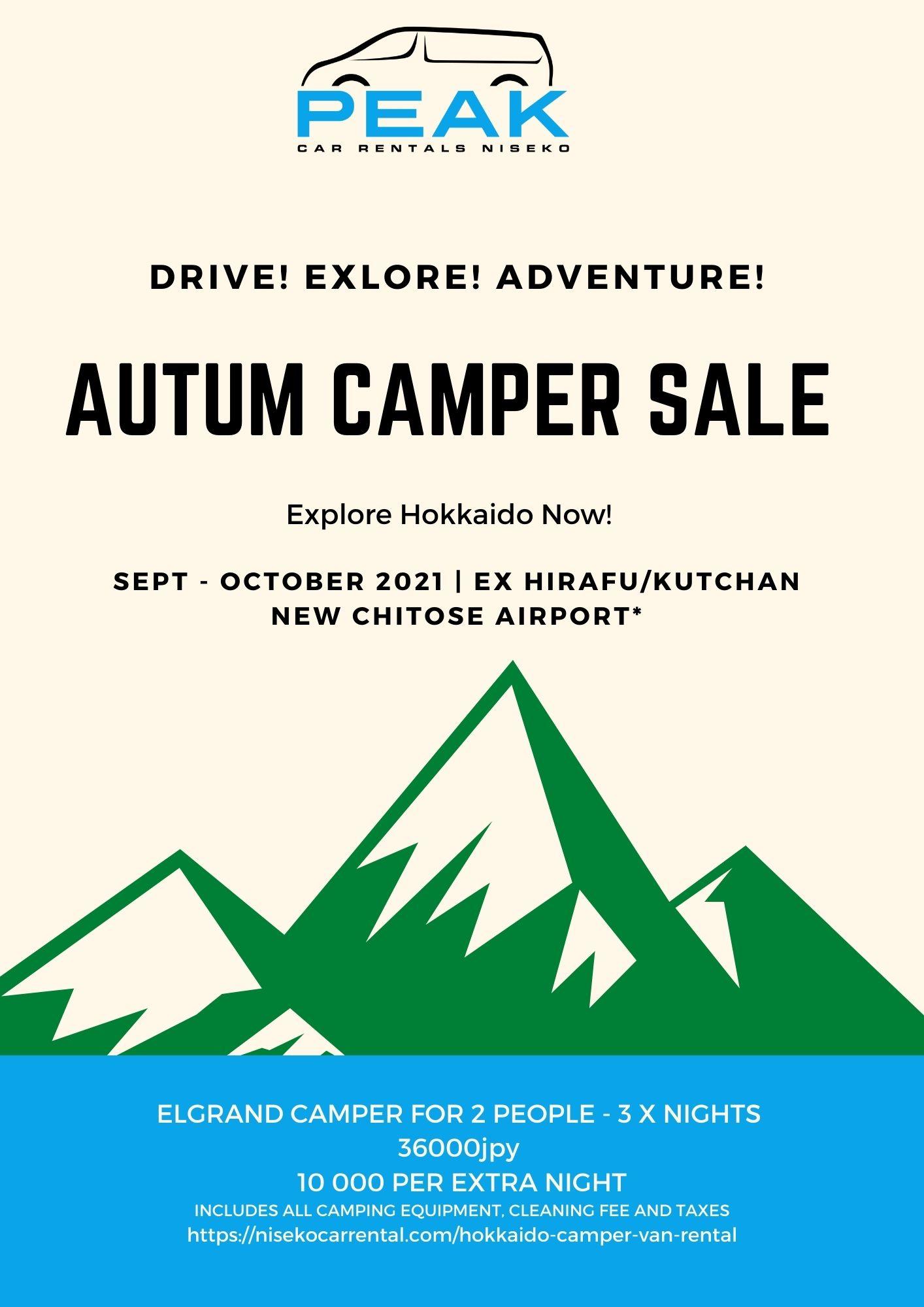 1 Peak Niseko Car Rental   Hokkaido 4WD Rentals